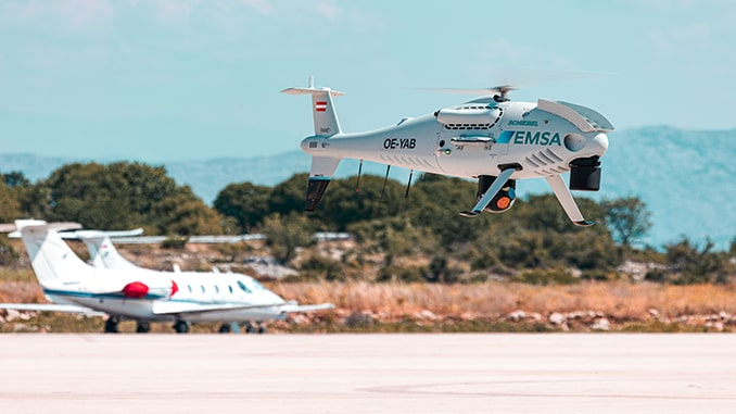 Schiebel Camcopter S-100 To Perform Coast Guard Services For EMSA In Republic of Croatia