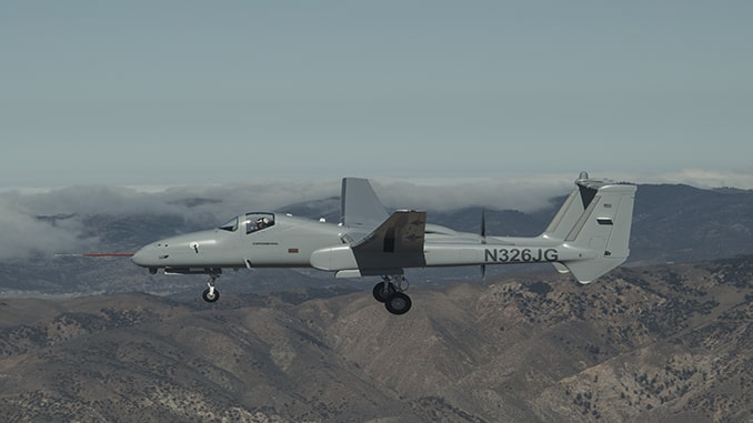 Grand Sky Among First In The World To Purchase The Northrop Grumman Firebird