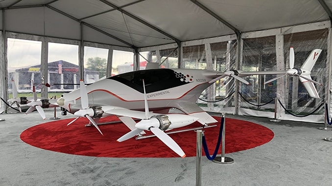 Vahana Makes Its Mark At 2019 EAA AirVenture Oshkosh