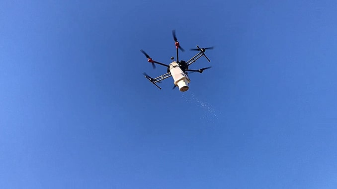 UAV-IQ Launches Drone-based Aerial Bio-control Service