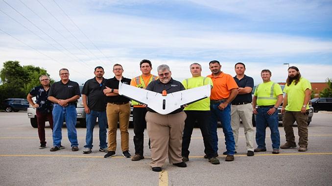 Weaver Consulting adopts Delair UX11 UAV for large scale surveying, mapping