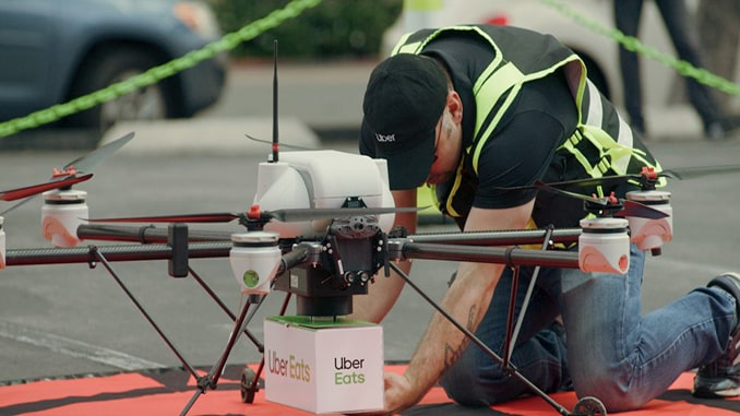 VOXL from ModalAI Contributes to Uber Eats Drone Delivery Testing