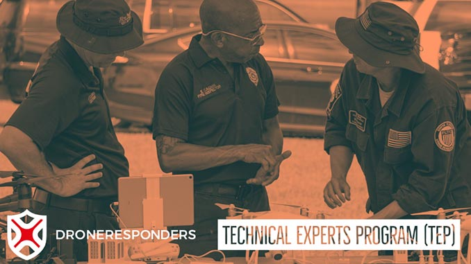 DRONERESPONDERS Unveils Technical Experts Program, Adds Advisors to Support Public Safety UAS