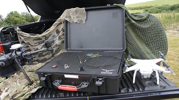 Drone Evolution Launches New Drone Tethering System At DSEI 2019