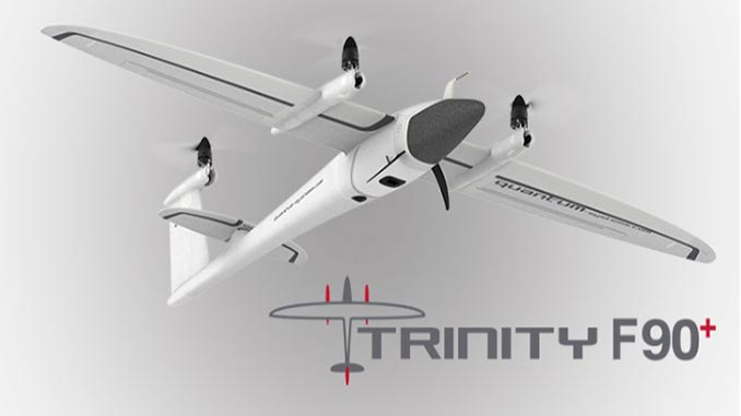 Quantum-Systems Launches Trinity F90+ UAV With PPK, Long Range Telemetry ADS-B In & Out