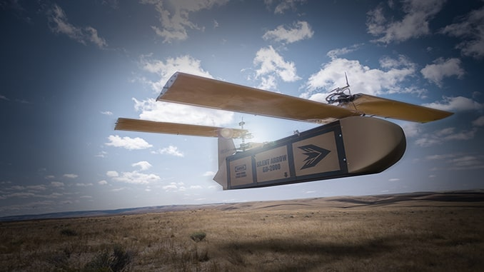 Silent Arrow 1-Ton Cargo Delivery Drone Unveiled in London, Full-Rate Production to Follow