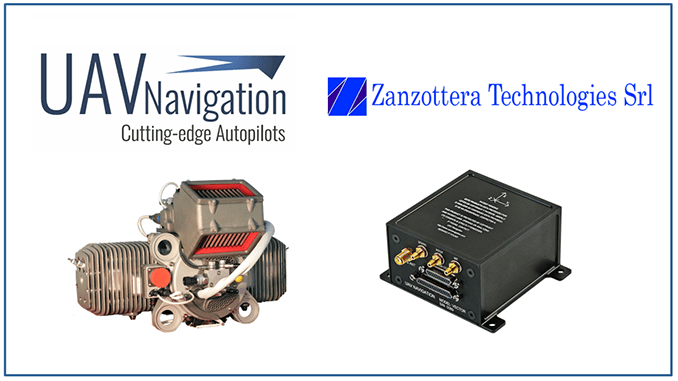 UAV Navigation Is Proud To Announce Its Collaboration With Zanzottera