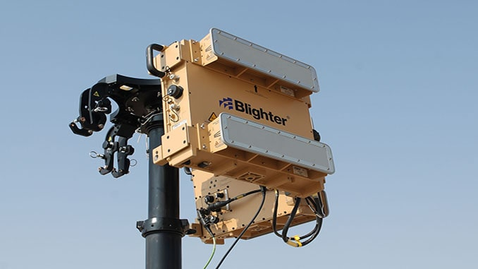 Blighter's A400 Series Counter-UAV Radar Enhanced to Better Detect Low, Slow and Small Drones