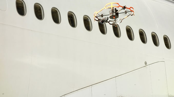 AAR Launches Donecle Drone Technology Integration for MRO Aircraft Inspections