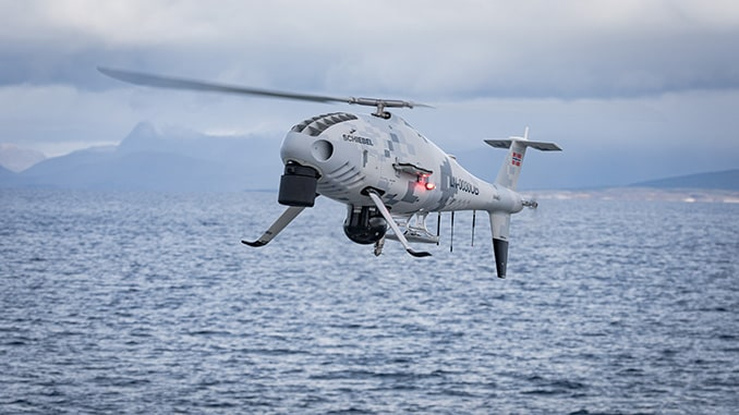 Schiebel CAMCOPTER S-100 Successfully Concludes Search And Rescue Flight Trials In Norway