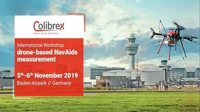 International Workshop On Drone-based NavAids Measurements Organised By Colibrex