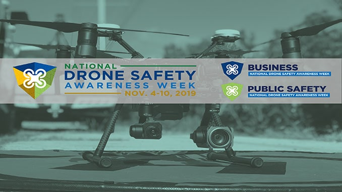 UAS Industry Leaders Partner to Kick Off FAA National Drone Safety Awareness Week