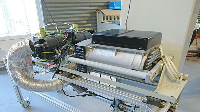 UAVOS's New Test Bed For Loading And Diagnostic Tests Of Internal Combustion Engines And Electric Motors