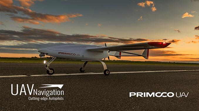 PRIMOCO UAV Tests The Latest Version Of UAV Navigation's Flight Control System