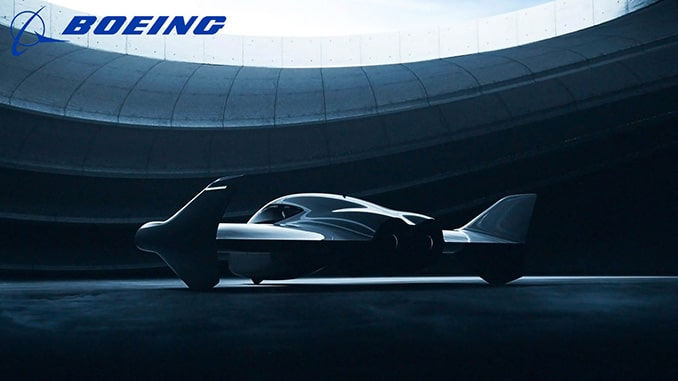 Porsche and Boeing to Partner on Premium Urban Air Mobility