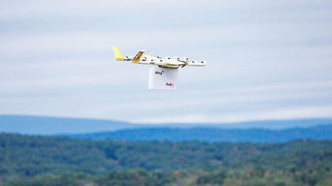 FedEx Test Drone Program Completes First U.S. Commercial Drone Delivery