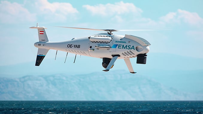 EMSA Extends Contract For Schiebel's CAMCOPTER S-100 Coast Guard Services In The Republic Of Croatia