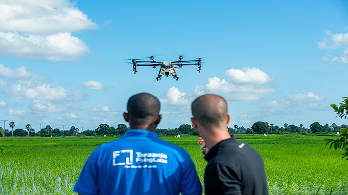 DJI Pioneers Fight Against Malaria In Africa With Spray Drones
