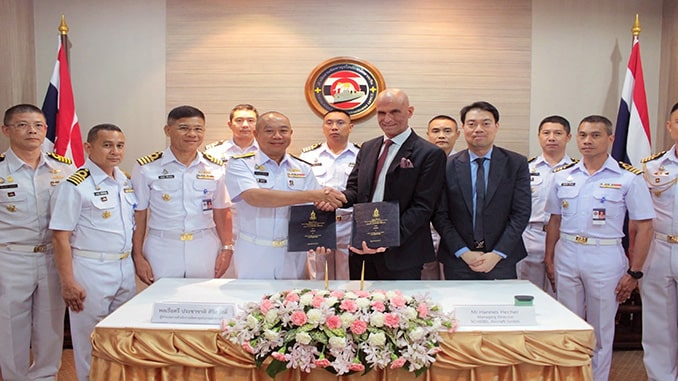 Schiebel CAMCOPTER® S-100 UAS Wins Contract With Royal Thai Navy