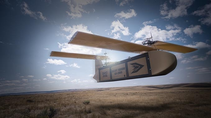 Silent Arrow® 1-Ton Cargo Delivery Drone Secures USSOCOM Development Contract