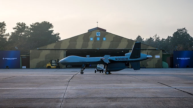 GA-ASI Begins Demonstration Flights in Greece