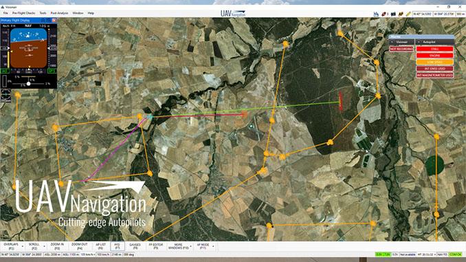Safer Navigation Through Enhanced Predictive Paths Powered By UAV Navigation