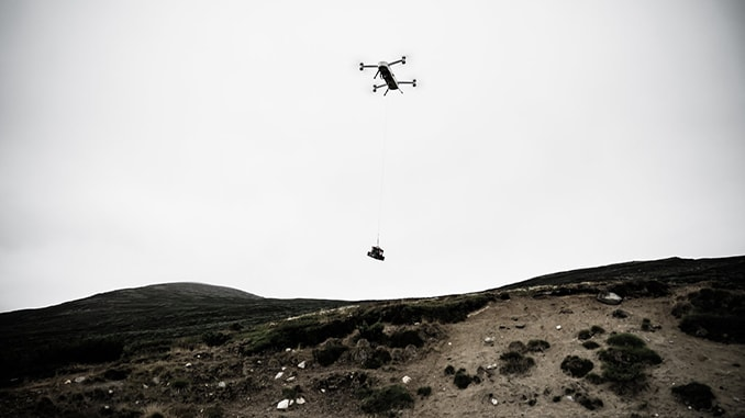 Plextek Helps Heavy Lifting Autonomous Drones To Navigate In Complex Environments