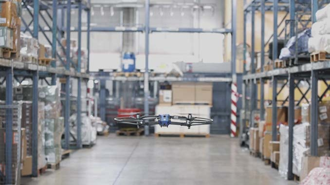 FlytWare Autonomous Drone Inventory Scan Solution Deployed At European Air Cargo Company