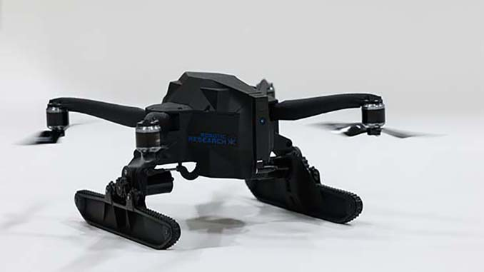 CES2020: Debut of First Football-size Transformable Drone