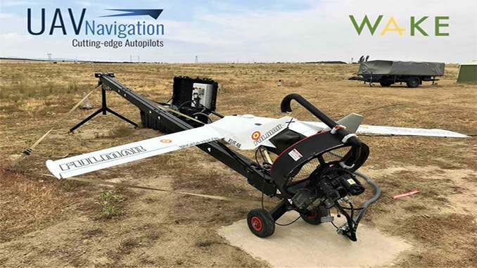 Wake Engineering platform FULMAR chooses UAV Navigation autopilots