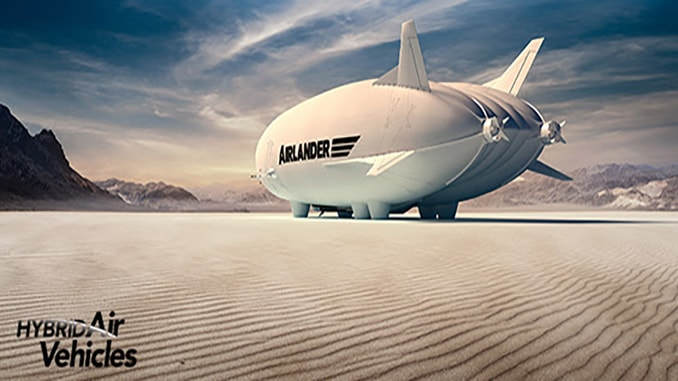 Hybrid Air Vehicles Reveals Airlander 10