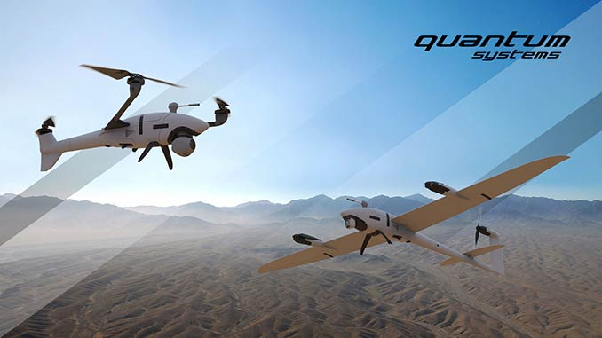 Auterion and Quantum-Systems Partner on Two New VTOL sUAS