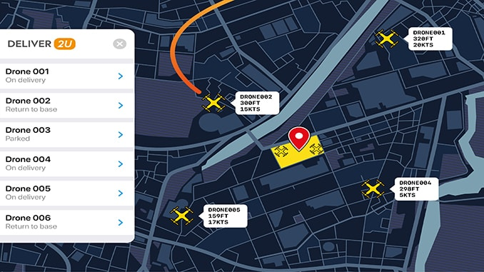 PLANE FINDER Launches Industry's First UAV Surveillance Service