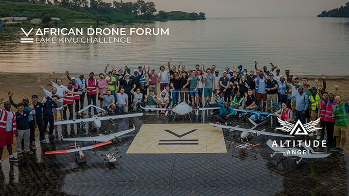 Altitude Angel Praised For Outstanding Contribution To The African Drone Forum