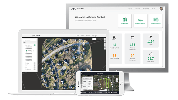 New Measure Ground Control Software Adds Mapping Powered by Pix4D