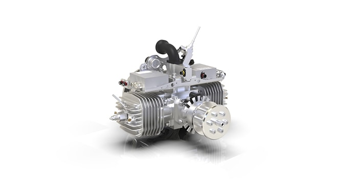 Sky Power introduces New Heavy Fuel (HF) Engine SP-210 HF FI TS