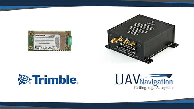 UAV Navigation Is Compatible With The New Trimble UAS1 GNSS Receiver