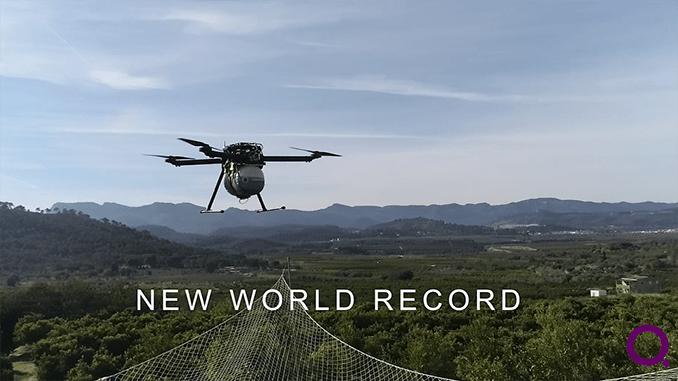HYBRiX Multirotor Breaks The Barrier In Flight Time