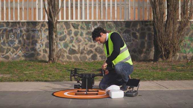 New Drone Boxes Can Be Used for Transporting Swabs and Medicine