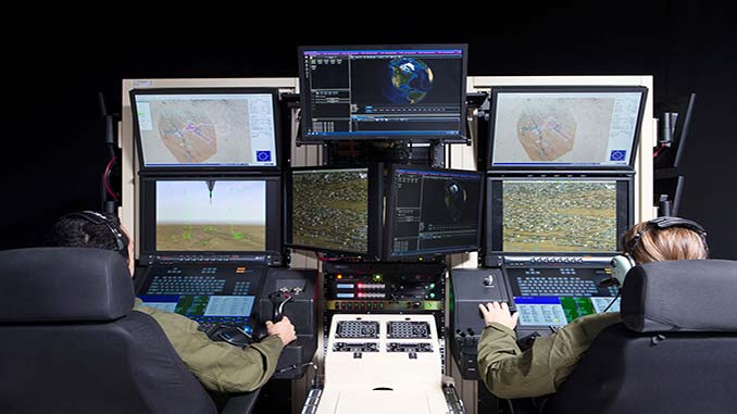 General Atomics Aeronautical Systems Installs New Predator Mission Trainer at FTTC