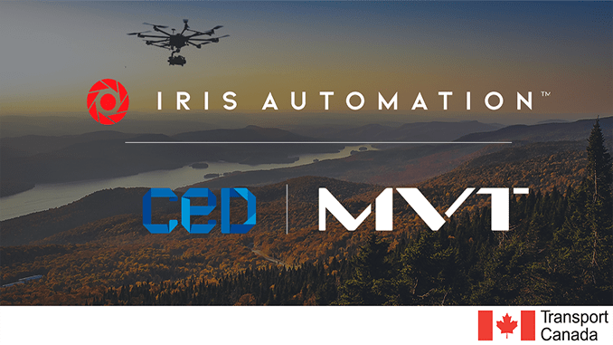 First BVLOS Drone Flights Granted in Canada Using Iris Automation's Onboard Detect-and-Avoid Technology