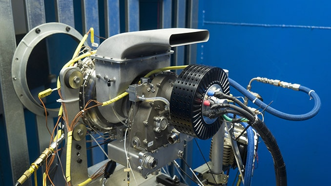 UAV Turbines, Inc Demonstrates Its Microturbine Engine Operating On Natural Gas