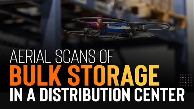 Aerial Scans Of Bulk Storage In A Million Square Foot Appliance Distribution Center
