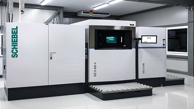 Schiebel Enhances Capabilities With New Metal 3D Printer