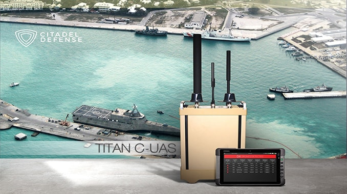 Citadel Defense Secures $9.2M Order for Titan C-UAS Systems