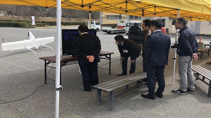 Swift UAS Teams Break New Ground in Japan