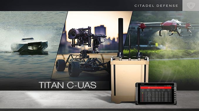 Citadel Defense Launches New AI Software that Detects and Defeats Air, Land, and Sea Drones