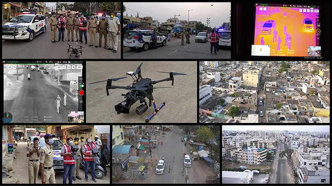 Cyient Provides Drone-Based Surveillance Technology to Support Cyberabad Police