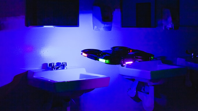 New Indoor Drone Uses UVC Lights for Disinfection of Essential Businesses