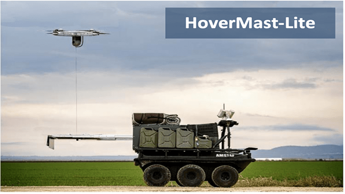 Sky Sapience Introduces HoverMast - Lite – the Next Generation of Tethered UAV Platform